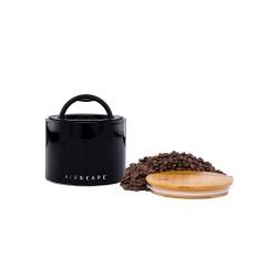 AirScape boite hermétique en céramique émaillée - Noir - Contenance 250 g - Ben Flavours